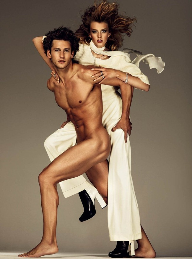 ANTIDOTE MAGAZINE- Sigrid Agren & Parker Gregory in &%Beauty & the Beast&% by Giampaolo Sgura. Fall 2011, Yann Weber, www.imageamplified.com, Image Amplified1 (1)
