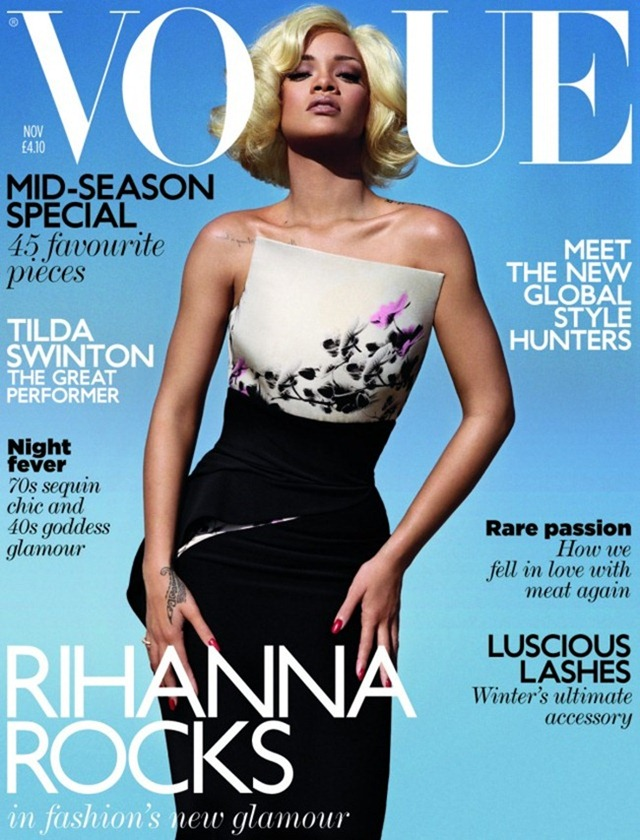 VOGUE MAGAZINE Rihanna in Rihanna Rocks by Alasdair McLellan. November 2011, www.imageamplified.com, Image Amplified (3)