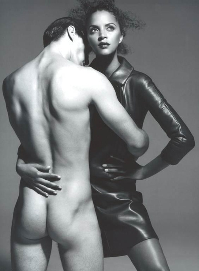 PONYSTEP MAGAZINE Dylan Garner & Noemie Lenoir in Leather Top by Xevi Muntane. Phoebe Arnold, Fall 2011, www.imageamplified.com, Image Amplified (3)