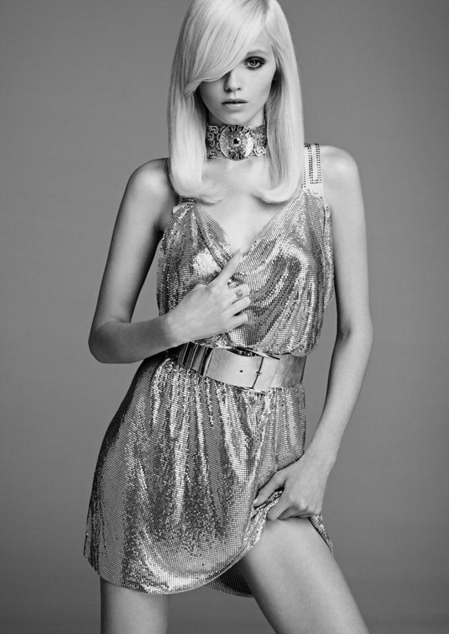 LOOKBOOK Abbey Lee Kershaw in Versace for H&M Fall 2011 by Kacper Kasprzyk. www.imageamplified.com, Image Amplified (7)