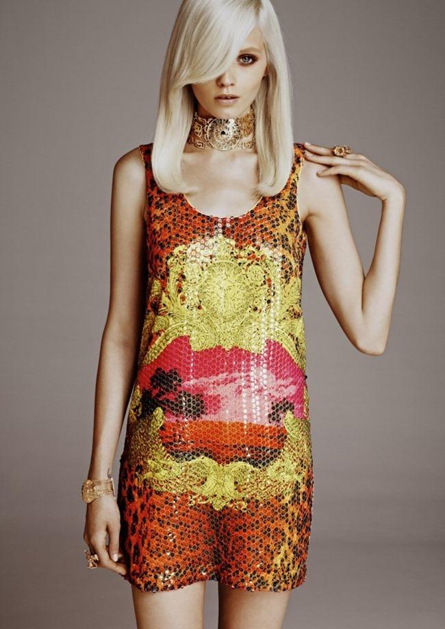 LOOKBOOK Abbey Lee Kershaw in Versace for H&M Fall 2011 by Kacper Kasprzyk. www.imageamplified.com, Image Amplified (8)