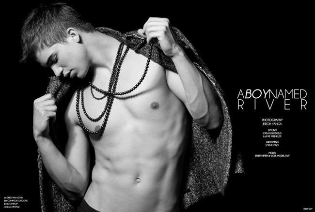 SHEER MAGAZINE River Viiperi in A Boy Named River by Jeiroh Yanga. www.imageamplified.com, Image Amplified (5)