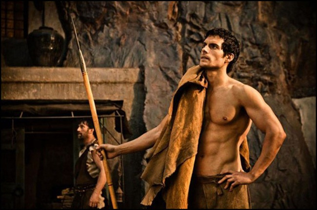 PREVIEW- Henry Cavill & Kellan Lutz for Immortals Entertainment Weekly, October 2011, www.imageamplified.com, Image Amplified0
