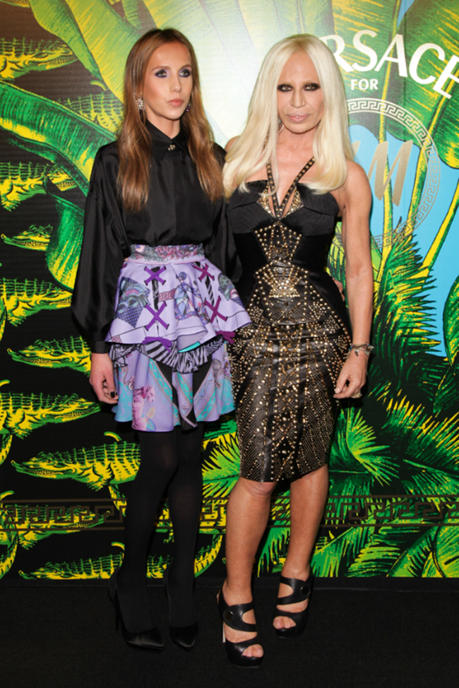 VERSACE ON THE HUDSON H&M Celebrates Collaboration With Donatella Versace. www.imageampilfied.com, Image Amplified (10)