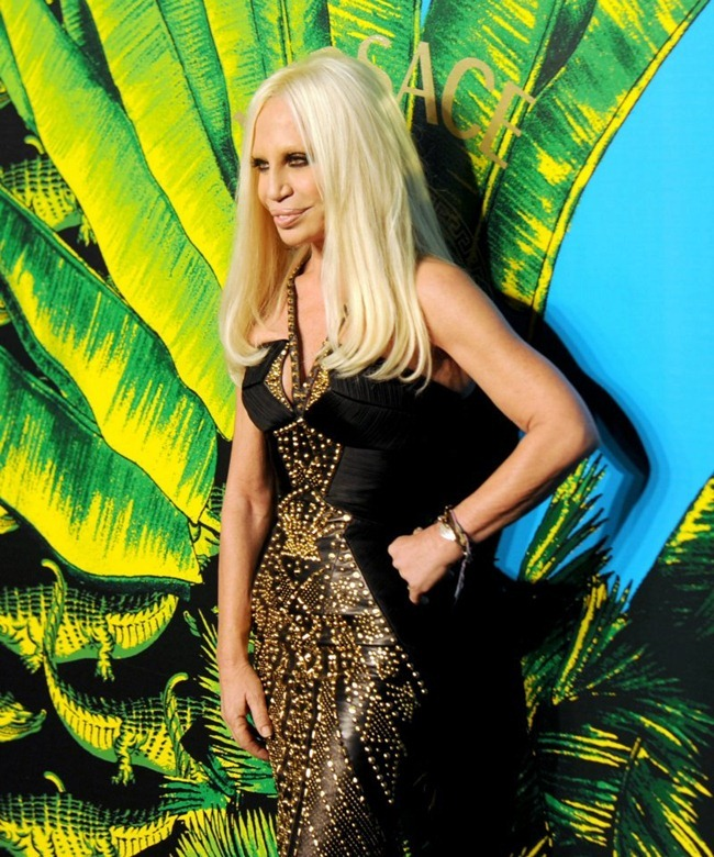 VERSACE ON THE HUDSON H&M Celebrates Collaboration With Donatella Versace. www.imageampilfied.com, Image Amplified (4)