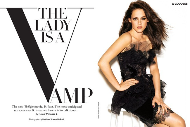 GLAMOUR UK- Kristen Stewart in The Lady Is A Vamp by Matthias Vriens-McGrath. Gaelle Paul, December 2011, www.imageamplified.com, Image Amplified8