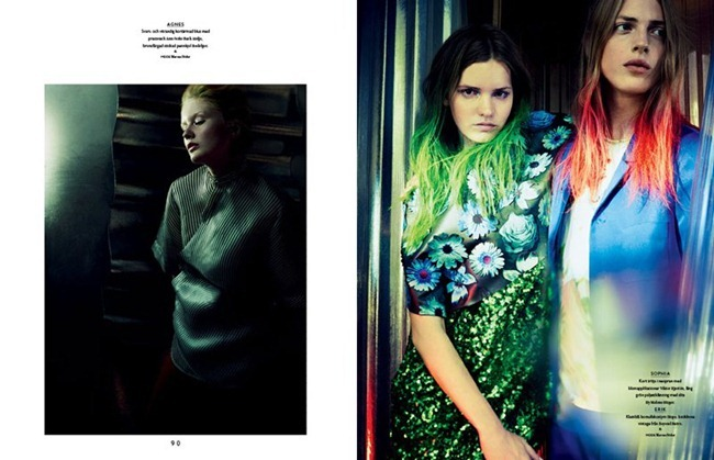BON MAGAZINE Neon by Peter Gehrke. Marcus Söder, Naomi Itkes, Spring 2012, www.imageamplified.com, Image Amplified (2)