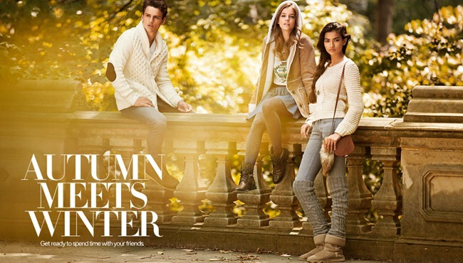 CAMPAIGN- Simon Nessman & Barbara Palvin for H&M Autumn Meets Winter, Fall 2011. www.imageamplified.com, Image Amplified5