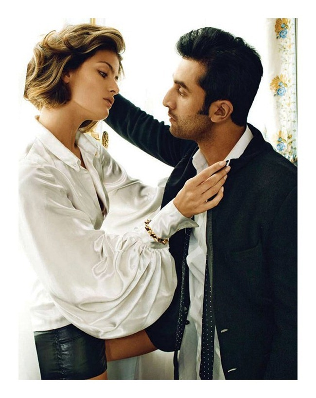 VOGUE INDIA- Isabeli Fontana & Ranbir Kapoor by Marc Hom. www.imageamplified.com, Image Amplified5