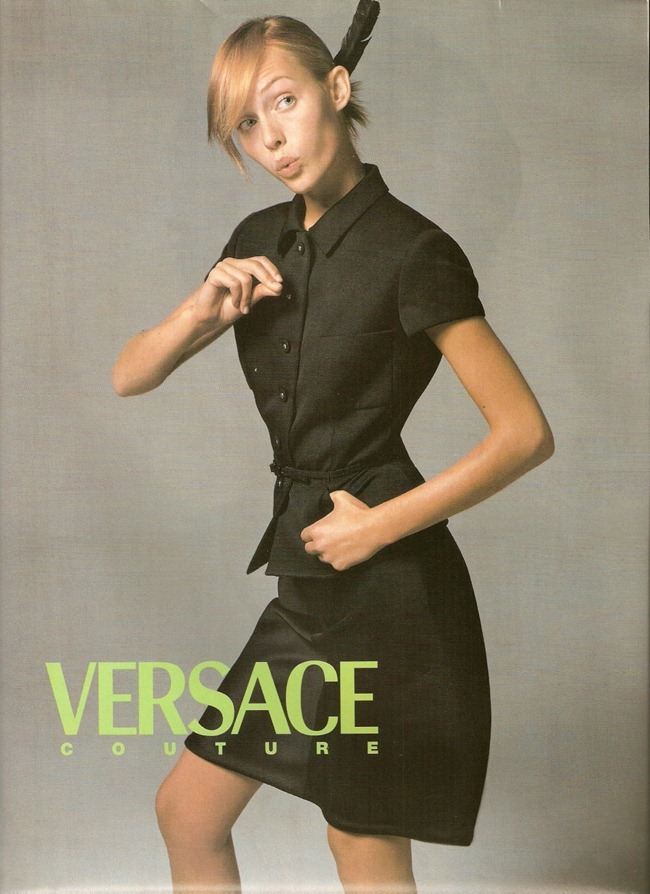 WE ♥ VERSACE- Amber Valletta for Versace Spring Summer 1996. www.imageampilfied.com, Image Amplified7
