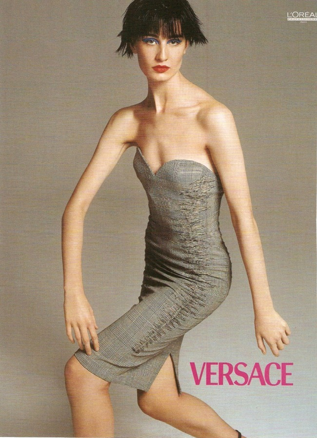 WE ♥ VERSACE- Erin O'Connor for Versace Spring 1998 by Richard Avedon. www.imageampilfied.com, Image Amplified2