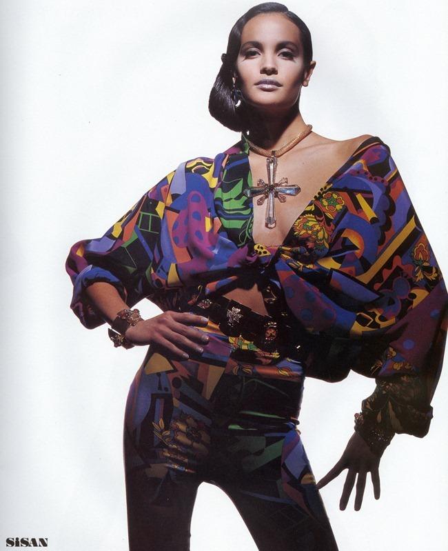 WE ♥ VERSACE- Gurmit, Karen Mulder & Claudia Mason for Atelier Versace S S 1991 by Tyen. www.imageampilfied.com, Image Amplified2 (1)