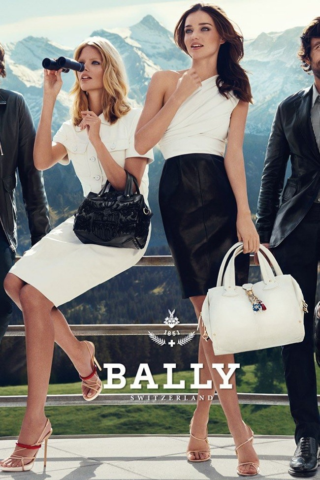 CAMPAIGN Julia Stegner & Miranda Kerr for Bally Spring 2012 by Norman Jean Roy. www.imageamplified.com, Image Amplified (2)