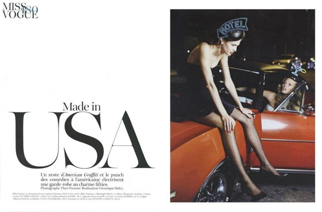 VOGUE PARIS Toni Garrn & Kendra Spears in Made in USA by Teho Wenner. Veronique Dirty, December 2011, www.imageampilfied.com, Image Amplified (4)