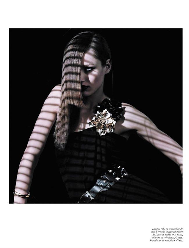 VOGUE PARIS Karmen Pedaru in Last Night by Hedi Slimane. Melanie Ward, December 2011, www.imageampilfied.com, Image Amplified (7)