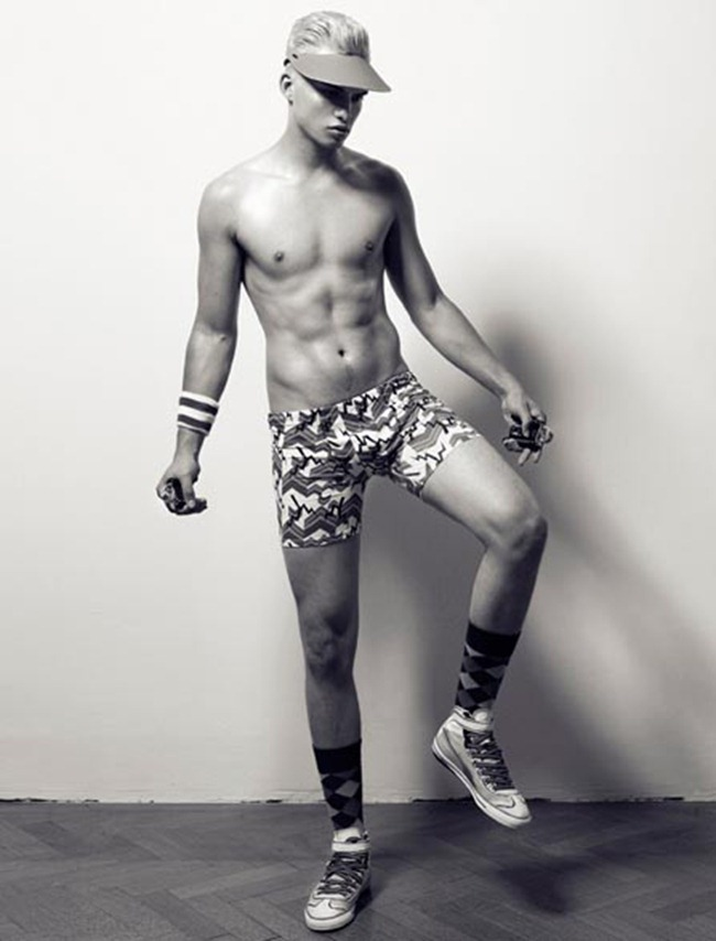 FEATURED MODEL Philipp Jelenska in Passion Olypiques by Philipp Jelenska. www.imageamplified.com, Image Amplified (1)