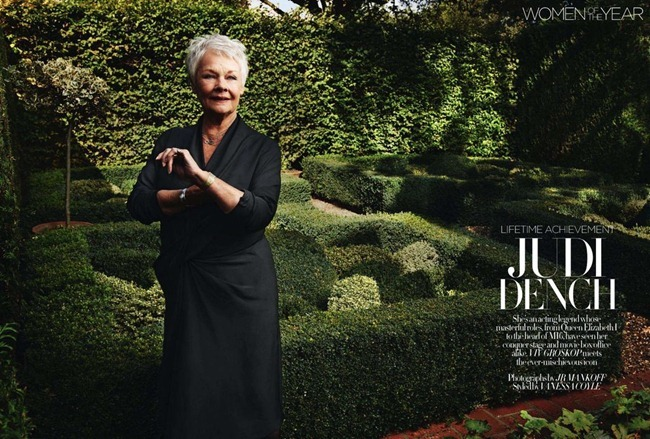 HARPER'S BAZAAR UK Judi Dench by JR Mankoff. Vanessa Coyle, December 2011, www.imageamplified.com, Image Amplified (1)