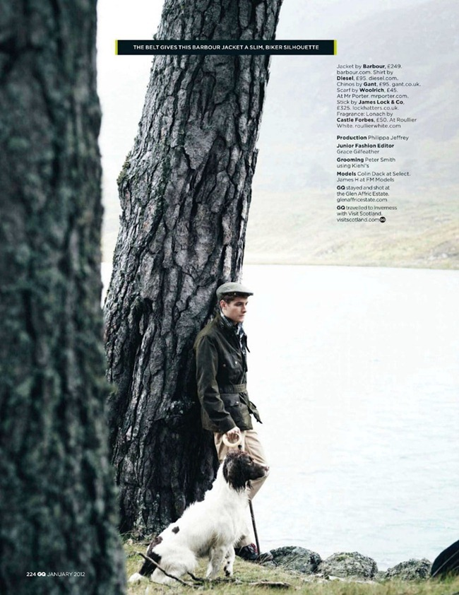 GQ UK Colin Dack in Loch'n'Roll by Lee Strickland. January 2012, Jo levin, www.imageamplified.com, Image Amplified (2)