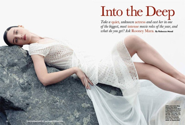 ALLURE MAGAZINE- Rooney Mara in Into the Deep by Michael Thompson. January 2012, www.imageamplified.com, Image Amplified6