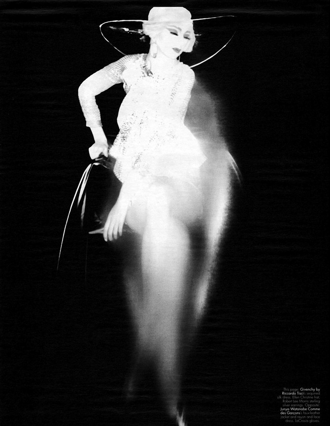 W MAGAZINE- Alexia Wight in From Jazz Age to Space Age by Nick Knight. Edward Enninful, January 2012, www.imageamplified.com, Image Amplified9