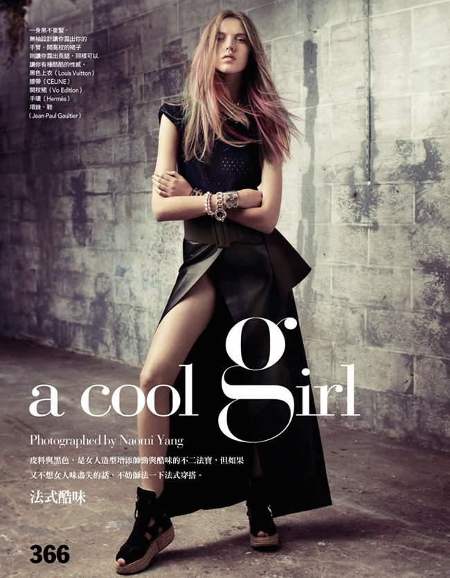 VOGUE TAIWAN- Josefien Rodermans in A Cool Girl by Naomi Yang. Lilly Marthe, December 2011, www.imageamplified.com, Image Amplified5