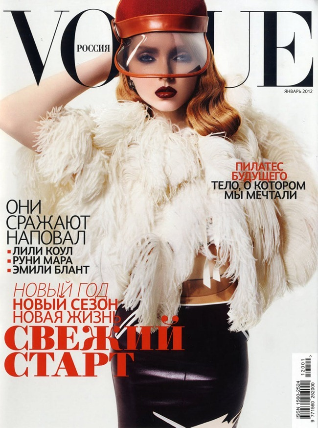 VOGUE RUSSIA- Lily Cole in Bouquet Lily by Anthony Maule. Ekaterina Mukhina, January 2012, www.imageamplified.com, Image Amplified5