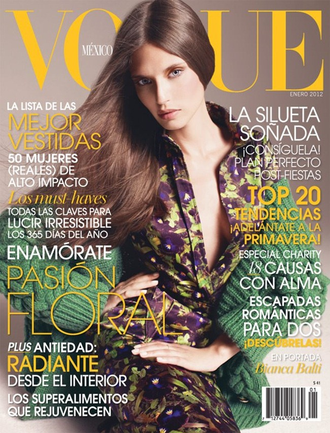 VOGUE MEXICO- Bianca Balti in Amor Por El Color by Marcin Tyszka. January 2012, www.imageamplified.com, Image Amplified0