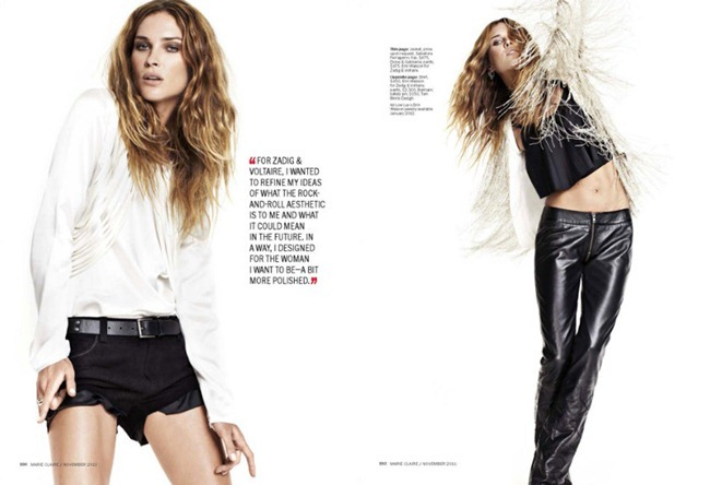 MARIE CLAIRE MAGAZINE Erin Wasson in Crazy Sexy Cool by David Roemer. November 2011, www.imageamplified.com, Image Amplified (1)
