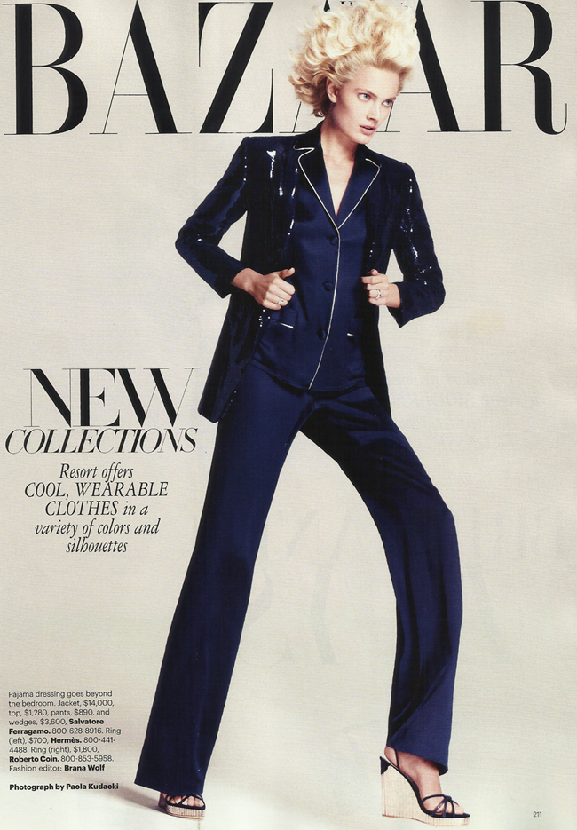 HARPER'S BAZAAR MAGAZINE Constance Jablonski in Brilliant Buys by Paola Kudacki. Brana Wolf, November 2011, www.imageamplified.com, Image Amplified (3)