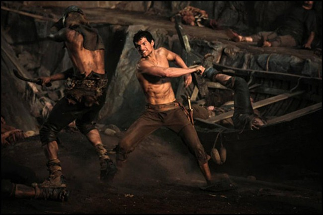 PREVIEW- Henry Cavill & Kellan Lutz for Immortals Entertainment Weekly, October 2011, www.imageamplified.com, Image Amplified4 (1)