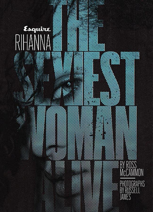 Rihanna - Esquire USA November 2011