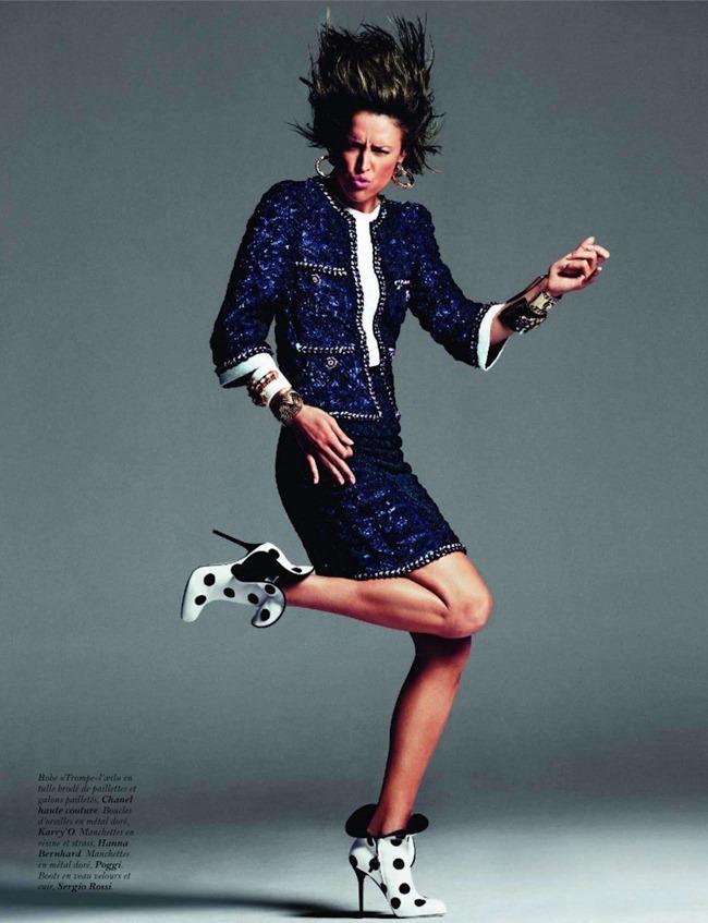 VOGUE PARIS- Raquel Zimmermann in Haute Couture by Inez & Vinoodh. Emmanuelle Alt, November 2011, www.imageamplified.com, Image Amplified8