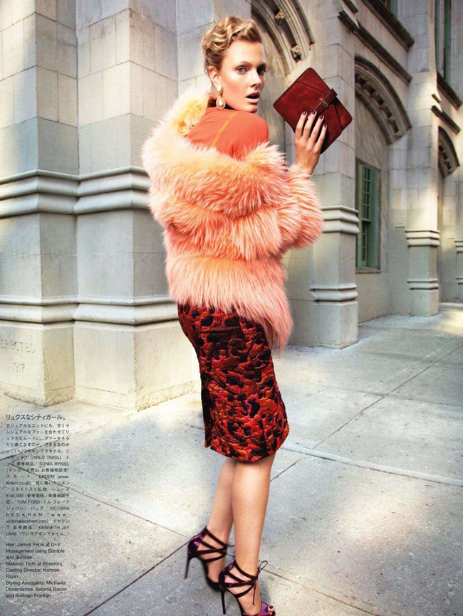 VOGUE JAPAN- Constance Jablonski & Eniko Mihalik in We Call It Glamour by Alex Cayley. Giovanna Battaglia, December 2011, www.imageamplified.com, Image Amplified6