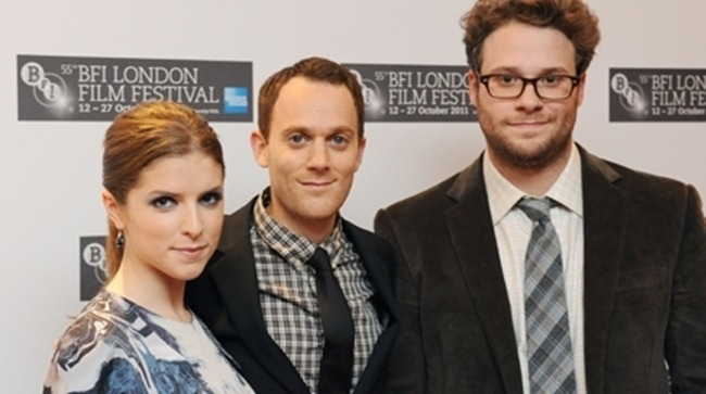 BFI 55TH LONDON FILM FESTIVAL- Day Two, 50^%50 Brings Anna Kendrick & Seth Rogen Plus, Like Crazy Premieres. www.imageamplified.com, Image Amplified7