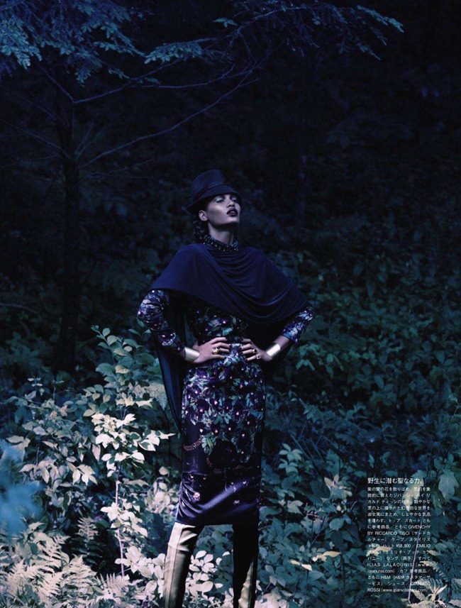 VOGUE JAPAN- Joan Smalls in Forgiving Wilderness by Solve Sundsbo. George Cortina, December 2011, www.imageamplified.com, Image Amplified7