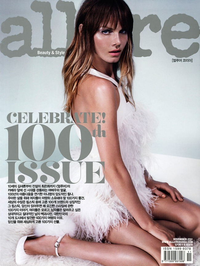 ALLURE KOREA- Angela Lindvall in Angela, the Beautiful by Catherine Servel. Catherine Newell-Hanson, November 2011, www.imageamplified.com, Image Amplified9