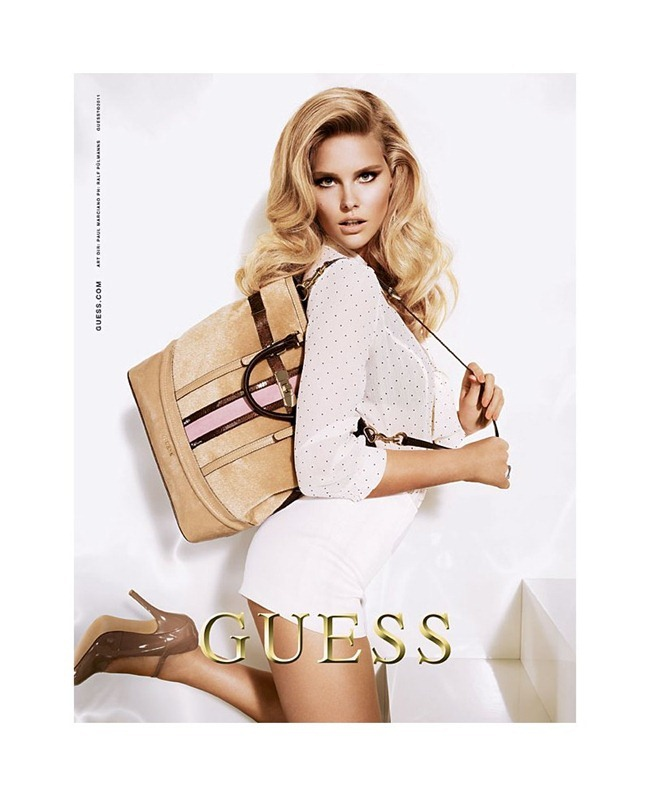 CAMPAIGN Shelby Keeton for Guess Accessories Holiday 2011 by Ralf Pulmanns. Laurie Smith, www.imageamplified.com, Image Amplified (2)