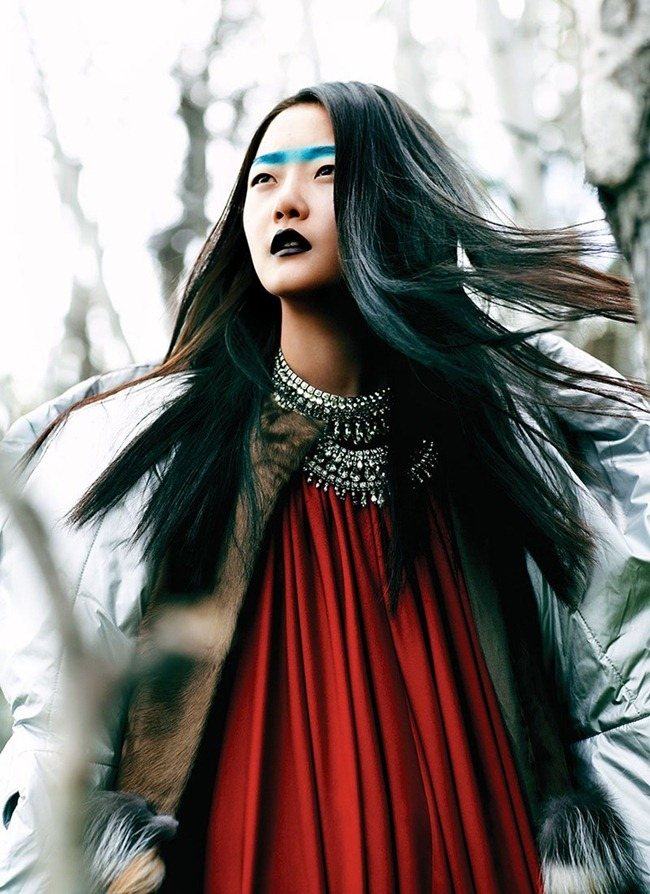 FLARE MAGAZINE Hyoni Kang in Glacial Glamour by Chris Nicholls. December 2011, www.imageamplified.com, Image Amplified (7)