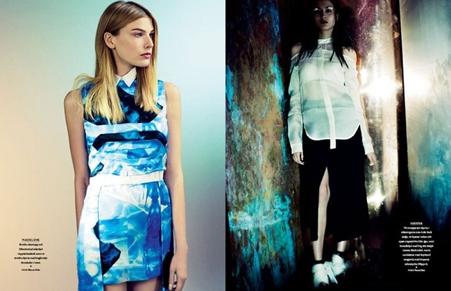 BON MAGAZINE Neon by Peter Gehrke. Marcus Söder, Naomi Itkes, Spring 2012, www.imageamplified.com, Image Amplified (4)