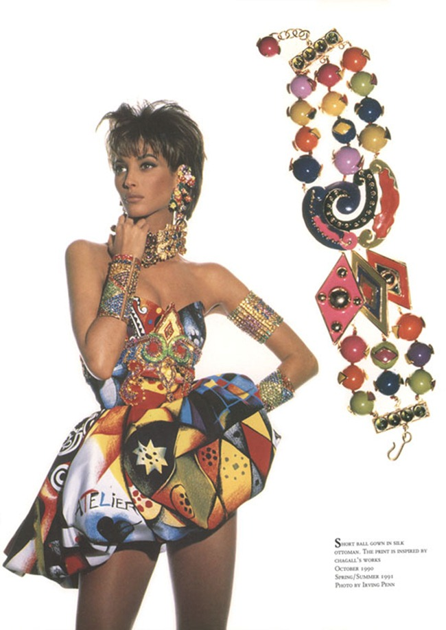 WE ♥ VERSACE- Naomi Campbell, Linda Evangelista & Christy Turlington for Versace Spring 1991 by Irving Penn. www.imageampilfied.com, Image Amplified4