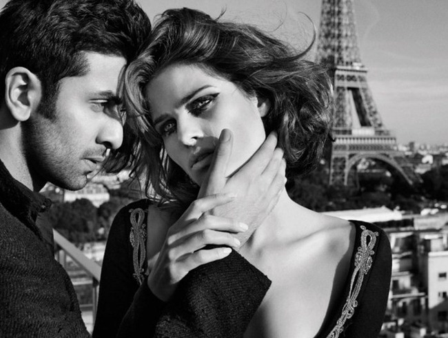 VOGUE INDIA- Isabeli Fontana & Ranbir Kapoor by Marc Hom. www.imageamplified.com, Image Amplified1