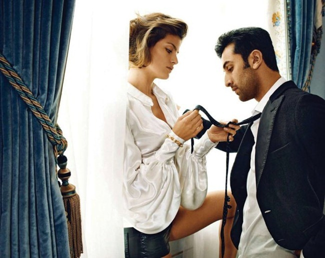 VOGUE INDIA- Isabeli Fontana & Ranbir Kapoor by Marc Hom. www.imageamplified.com, Image Amplified4