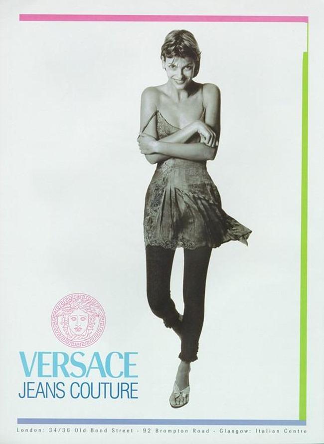 WE ♥ VERSACE- Cindy Crawford, Linda Evangelista, Stephanie Seymour & Christy Turlington for Versace Spring 1994 by Richard Avedon & Steven Meisel. www.imageampilfied.com, Image Amplified2