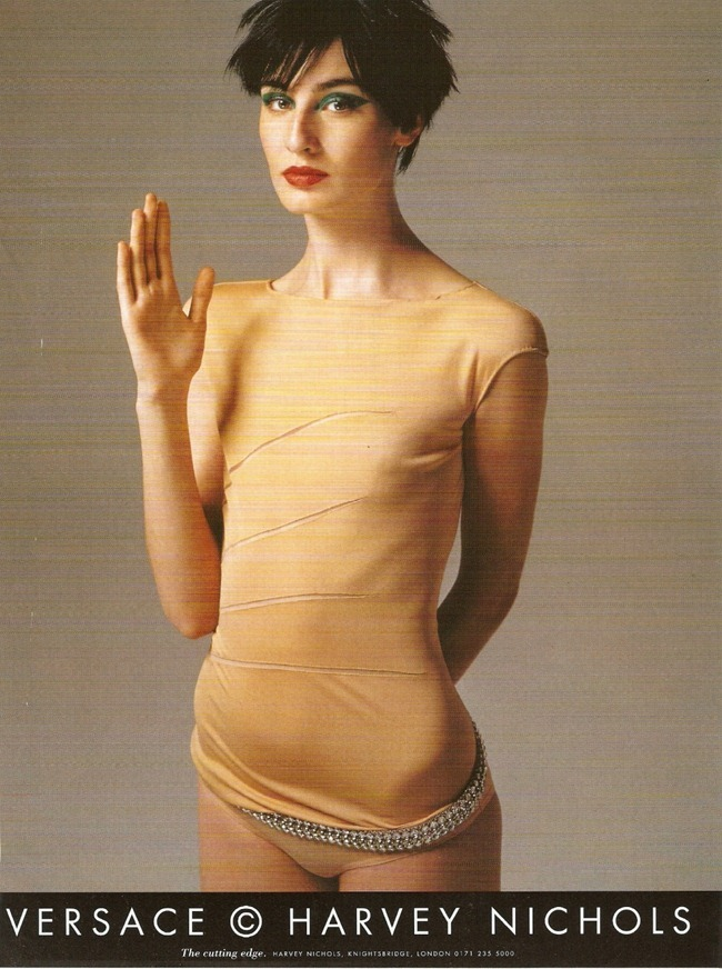 WE ♥ VERSACE- Erin O'Connor for Versace Spring 1998 by Richard Avedon. www.imageampilfied.com, Image Amplified4