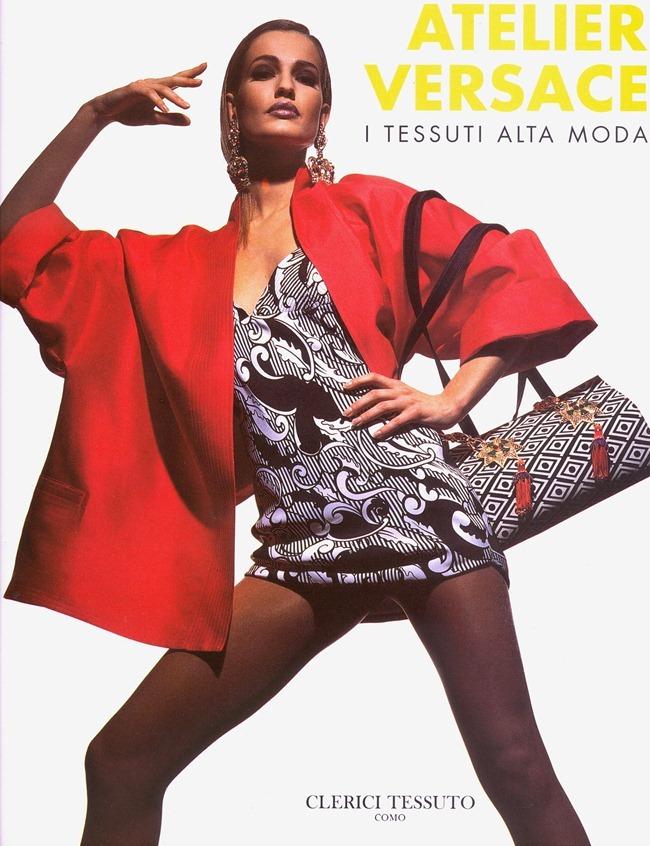 WE ♥ VERSACE- Gurmit, Karen Mulder & Claudia Mason for Atelier Versace S S 1991 by Tyen. www.imageampilfied.com, Image Amplified8