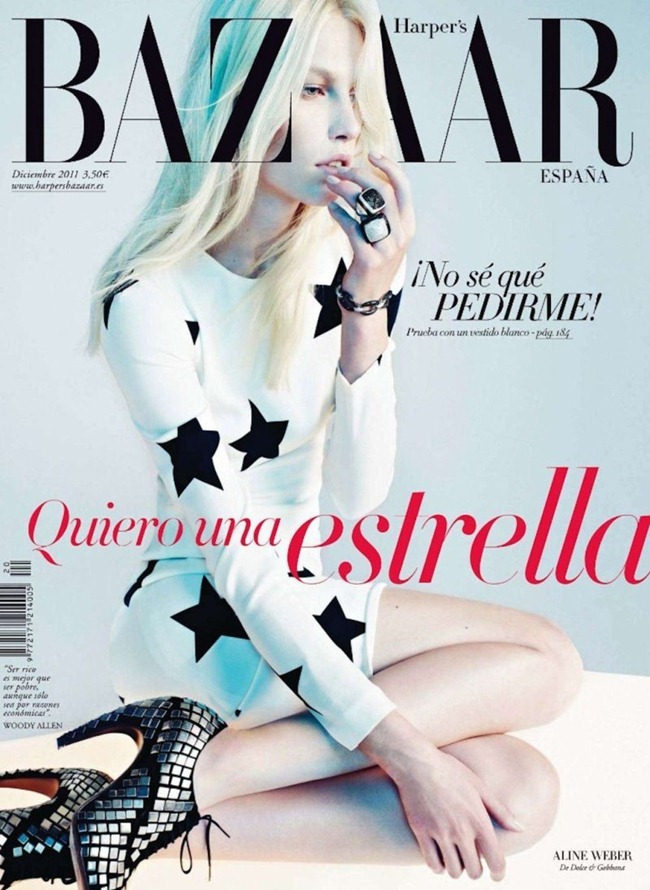HARPER'S BAZAAR SPAIN- Aline Weber by Txema Yeste. Juan Cebrian, December 2011, www.imageamplified.com, Image Amplified3