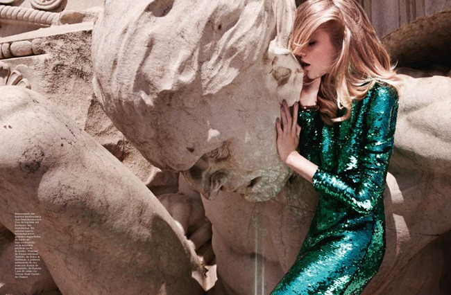 MARIE CLAIRE SPAIN Vlada Roslyakova in Lady Art by David Roemer. Enrique Campos, December 2011, www.imageamplified.com, Image Amplified (3)