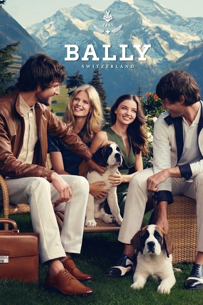 CAMPAIGN Julia Stegner & Miranda Kerr for Bally Spring 2012 by Norman Jean Roy. www.imageamplified.com, Image Amplified (4)