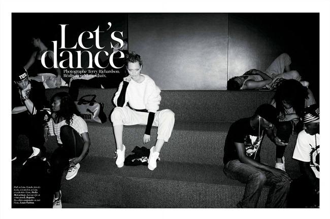 VOGUE PARIS Sasha Pivovarova in Let's Dance by Terry Richardson. Marie Chaix, December 2011, www.imageampilfied.com, Image Amplified (7)