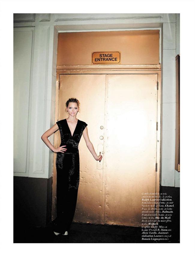 VOGUE PARIS Sasha Pivovarova in Let's Dance by Terry Richardson. Marie Chaix, December 2011, www.imageampilfied.com, Image Amplified (4)